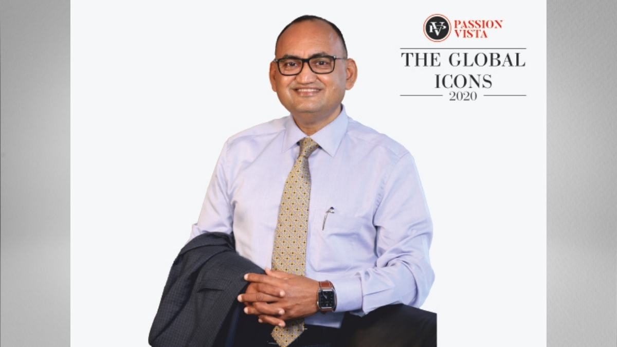 """Dilip Surana embarked his way to """"The Global Icons 2020"""""""