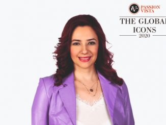 """Rania Lampou excelled by being one of """"The Global Icon 2020"""""""