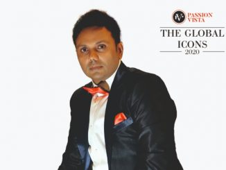 """Samir Shah added one more title of """"The Global Icon 2020"""" in his kitty"""