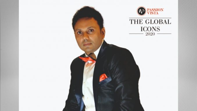"Samir Shah added one more title of ""The Global Icon 2020"" in his kitty"