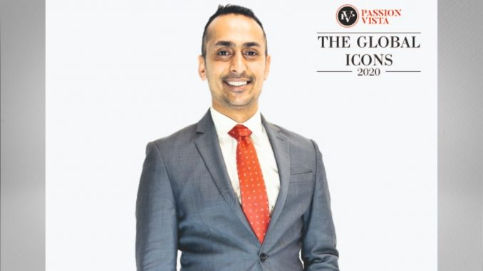 """Himanshu Patel got recognized as """"The Global Icon 2020"""""""