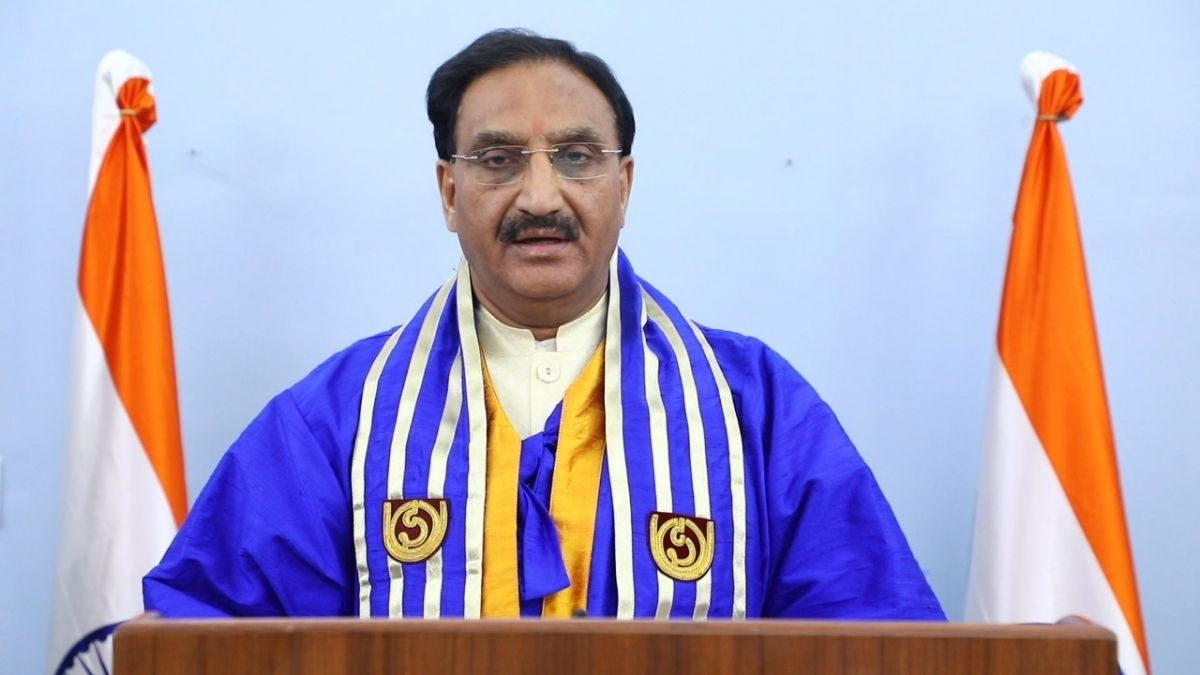 Union Minister of Education addresses at the 34th Convocation of IGNOU