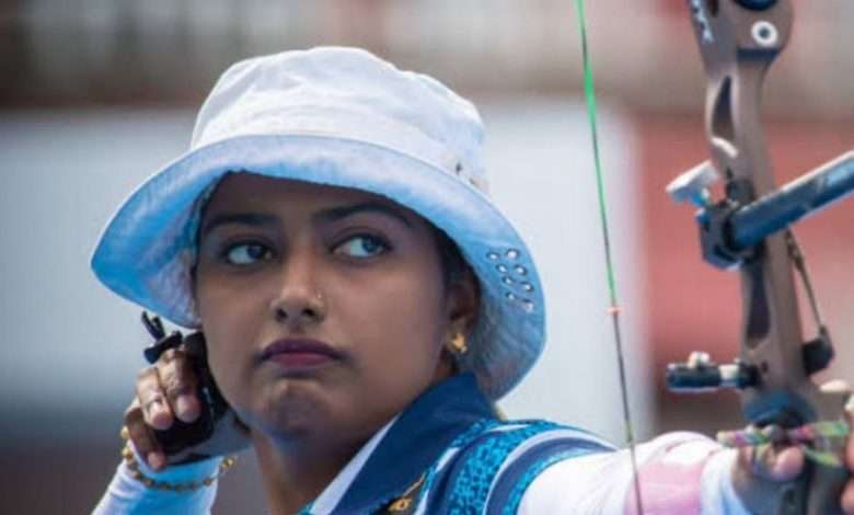 India women's recurve team wins gold medal in Archery World Cup