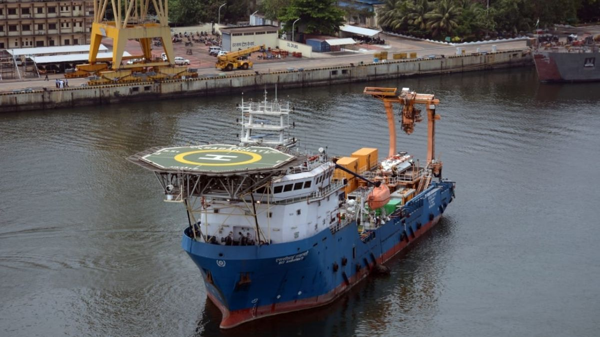 Indian Navy Dispatches its Deep Submergence Rescue Vessel to Support Search and Rescue of Missing Indonesian Submarine