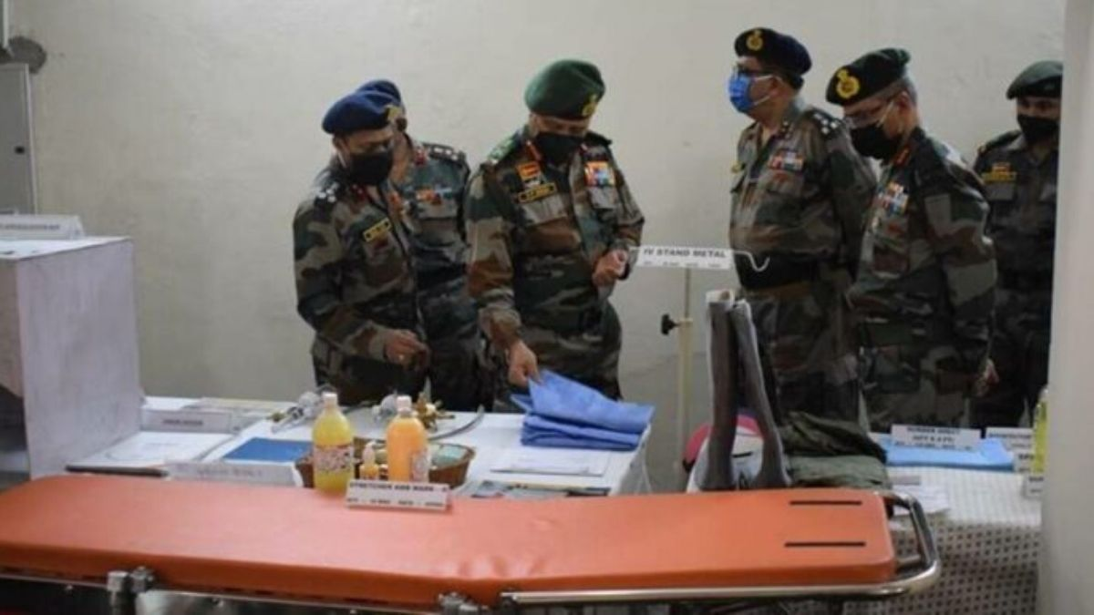 Indian Army Steps Up Hospital facilities at Delhi cantonment to fight covid surge