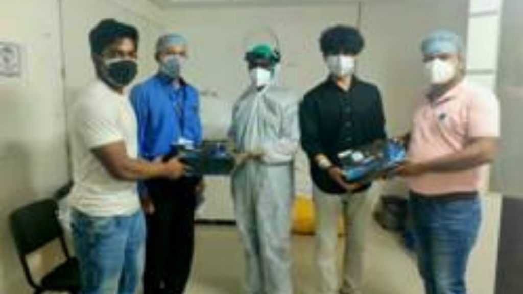 DST supported ventilation system to bring relief to health workers sweating in PPE suits for long hours