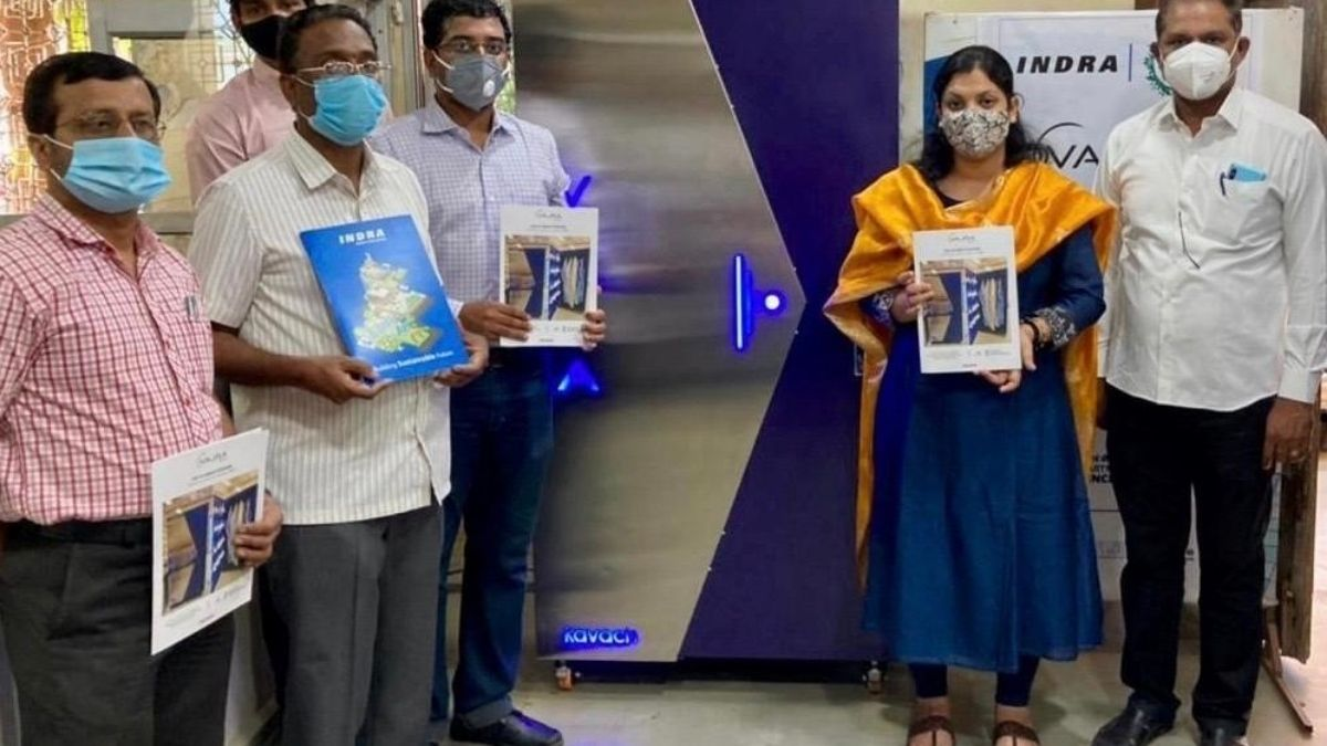 Use, Disinfect & Reuse PPEs, Masks, thanks to Vajra Kavach