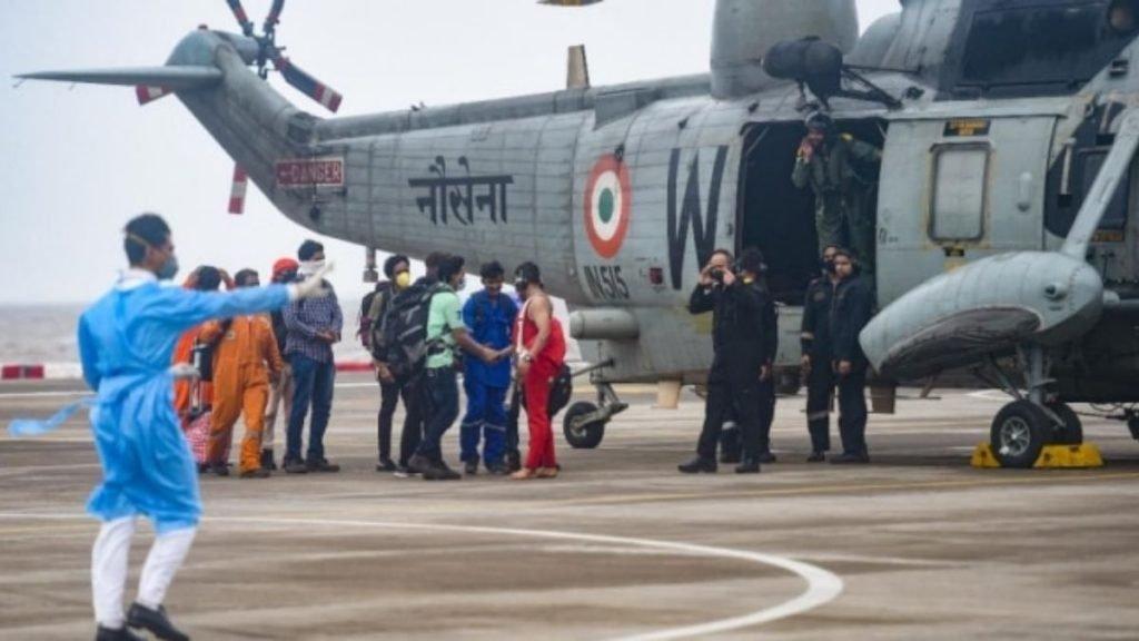 Raksha Mantri Shri Rajnath Singh lauds three Services & Indian Coast Guard for Cyclone Tauktae SAR operations
