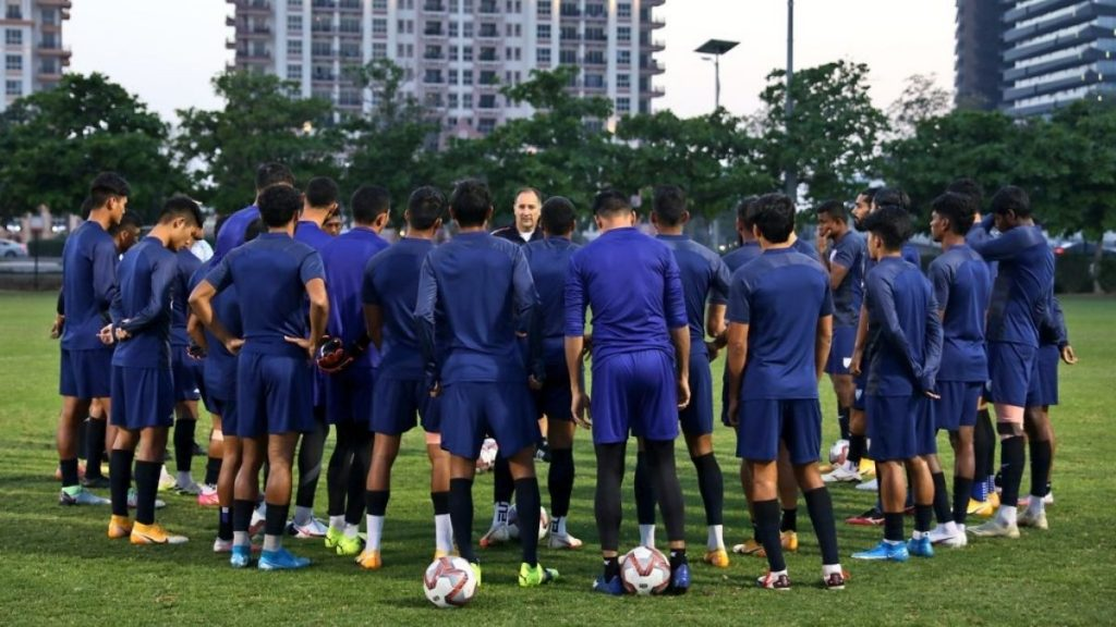 Indian football team to leave for Qatar to prepare for June qualifiers