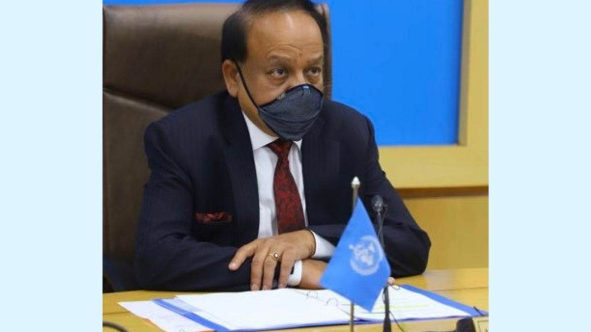 Video conferencing to review the COVID-19 situation Dr.Harsh Vardhan to interact with health ministers of UP, Andhra, MP, Gujarat to review