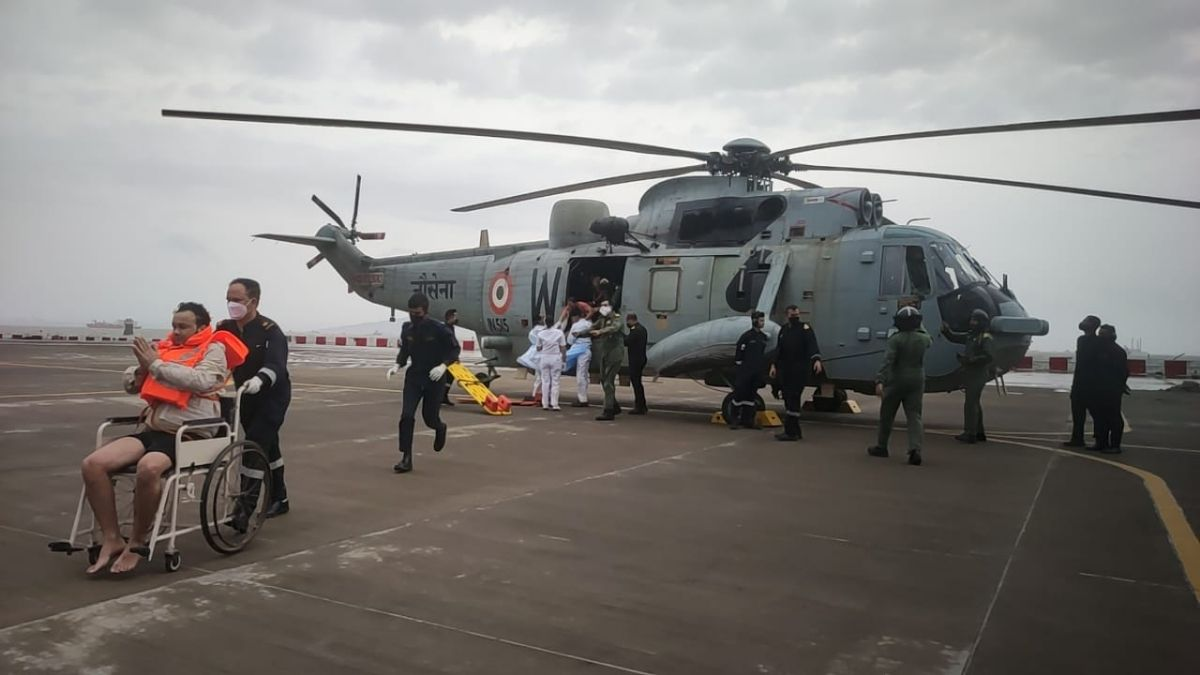 Cyclone Tauktae Update on Search and Rescue Operations