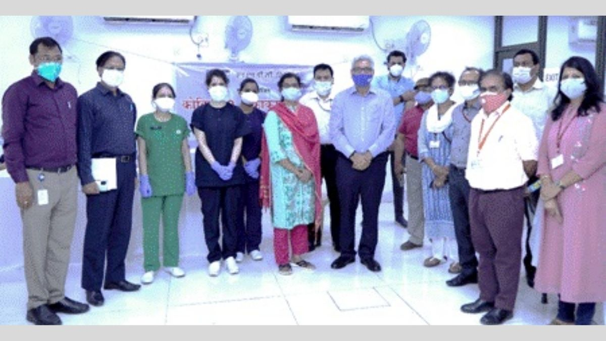 NHPC organizes massive COVID vaccination camp for Central Power Sector employees & their family members