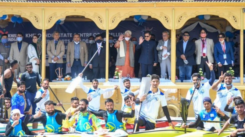 Khelo India State Centre of Excellence in Srinagar to add training facilities in Kayaking and Canoeing