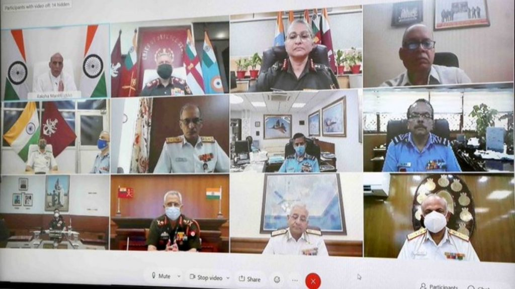 Raksha Mantri Shri Rajnath Singh launches SeHAT OPD portal to provide telemedicine services to Armed Forces personnel and veterans