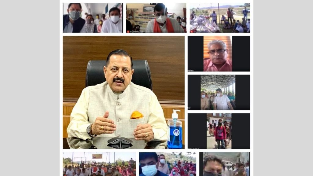 Union Minister Dr. Jitendra Singh appealed for a united fight against the COVID pandemic