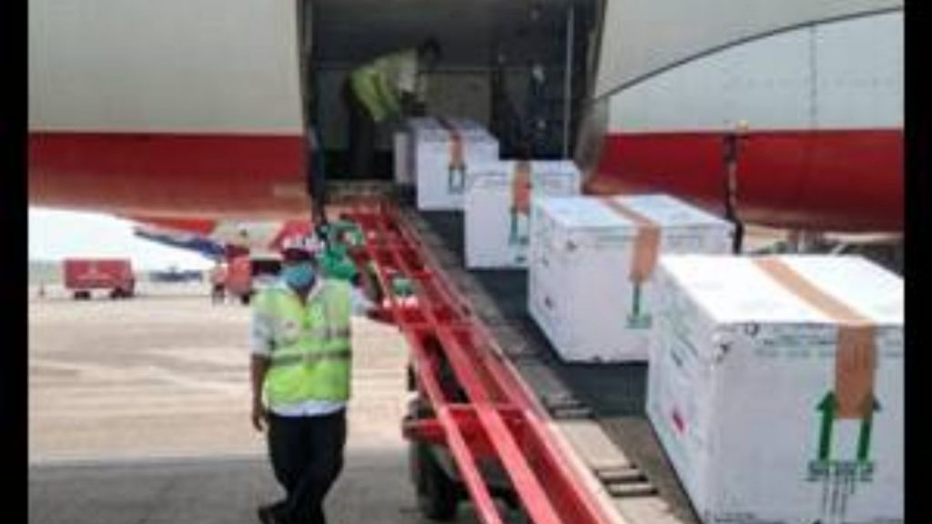 Uninterrupted Delivery of Medical Essentials Continues from Goa Airport