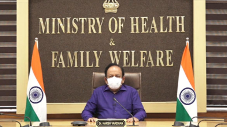 Dr. Harsh Vardhan digitally addresses FSSAI's World Food Safety Day Event