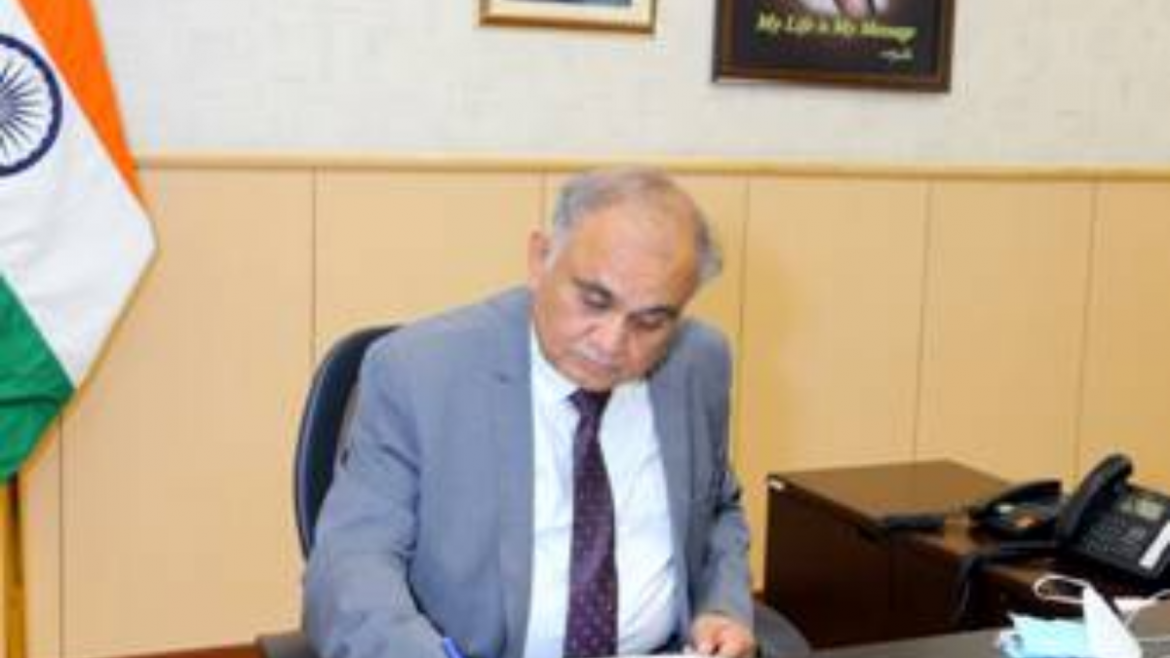 Shri Anup Chandra Pandey takes over as new Election Commissioner