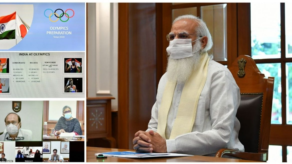 PM chairs a meeting to review preparations for the Tokyo Olympics