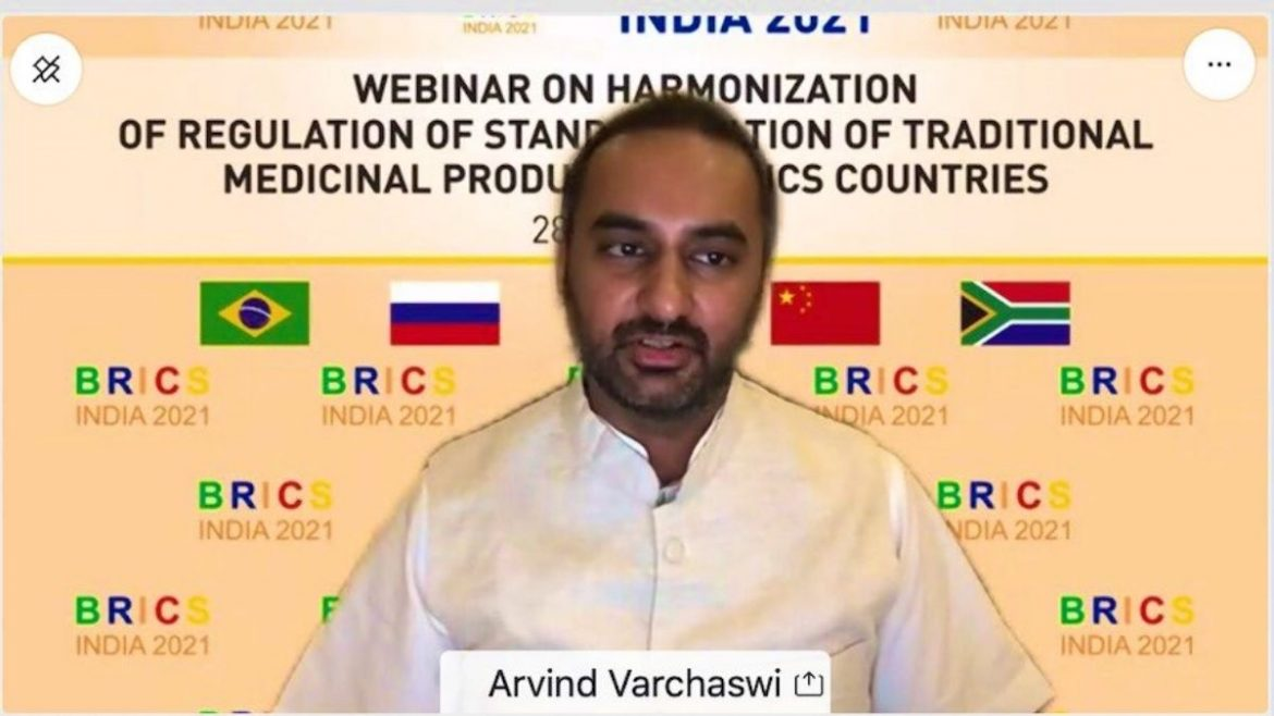 Webinar on Harmonization of Regulation of Standardization of Traditional Medicinal Products of Brics Countries