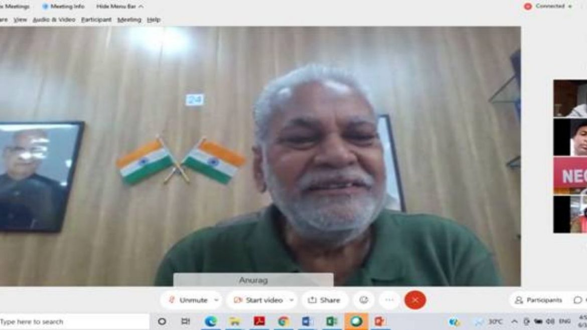 Union Minister of State for Agriculture and  Farmer's Welfare Shri Parshottam Rupala launches the Bamboo Market Page on Govt e-Marketplace (GeM) portal
