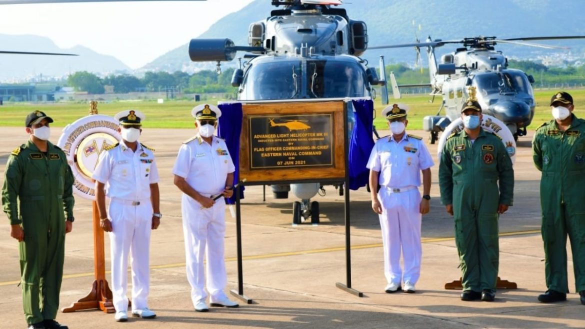 Advanced Light Helicopters Inducted at INS Dega