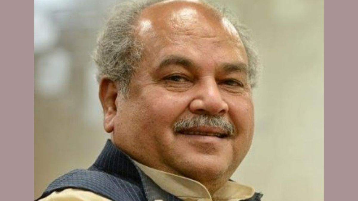 Union Minister of Agriculture and Farmers' Welfare Shri Narendra Singh Tomar addresses the 42nd session of the FAO Conference