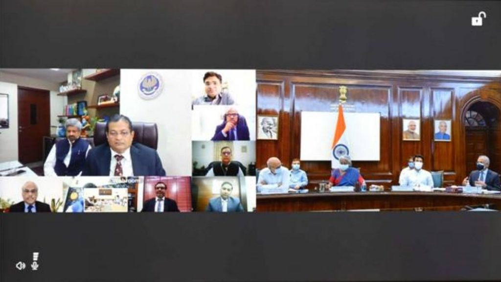 Finance Minister interaction with tax professionals, other stakeholders, and Infosys on issues in new Income Tax Portal