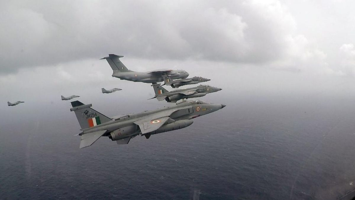 Integrated bilateral exercise of Indian Navy and Indian Air Force with US Navy concludes in Indian Ocean Region