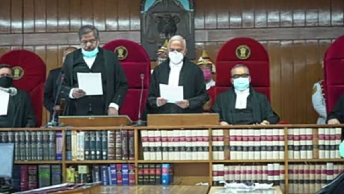 Shri Justice Ravi Vijaykumar Malimath appointed to perform the duties of the office of Chief Justice of Himachal Pradesh High Court