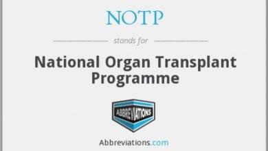 National Organ Transplant Programme (NOTP)