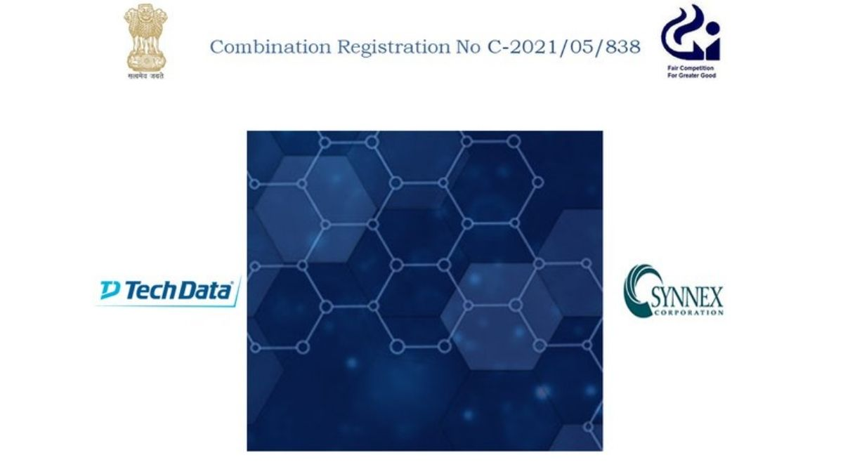 CCI approves merger of Tech Data Corporation with SYNNEX Corporation