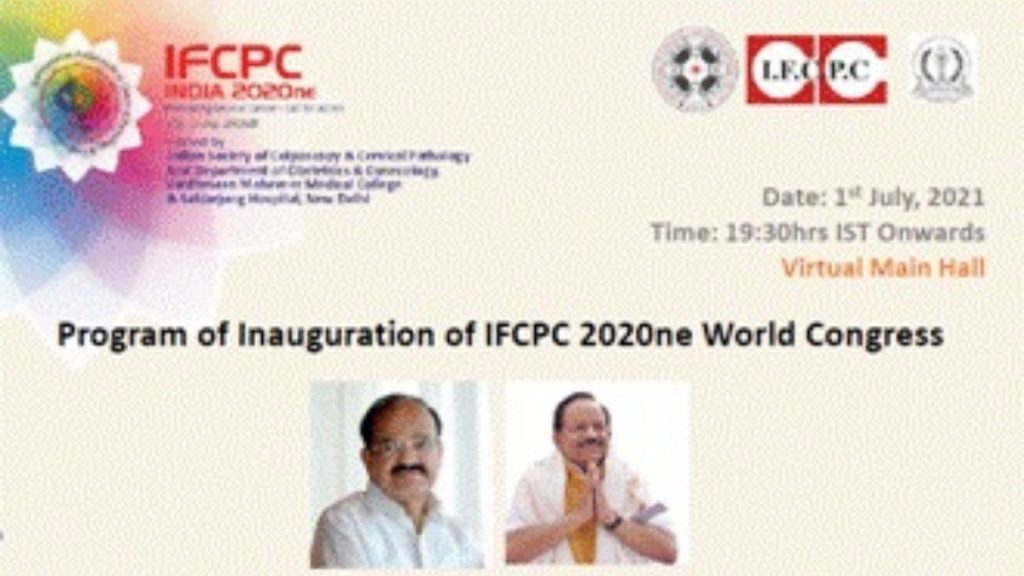 Dr. Harsh Vardhan addresses the 17th World Congress for Cervical Pathology and Colposcopy