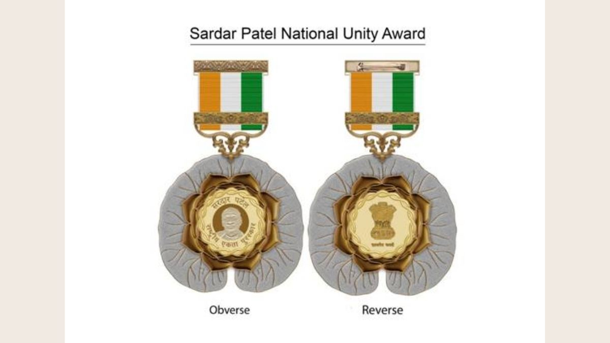 Nominations for Sardar Patel National Unity Award-2021 Open till 15TH August 2021