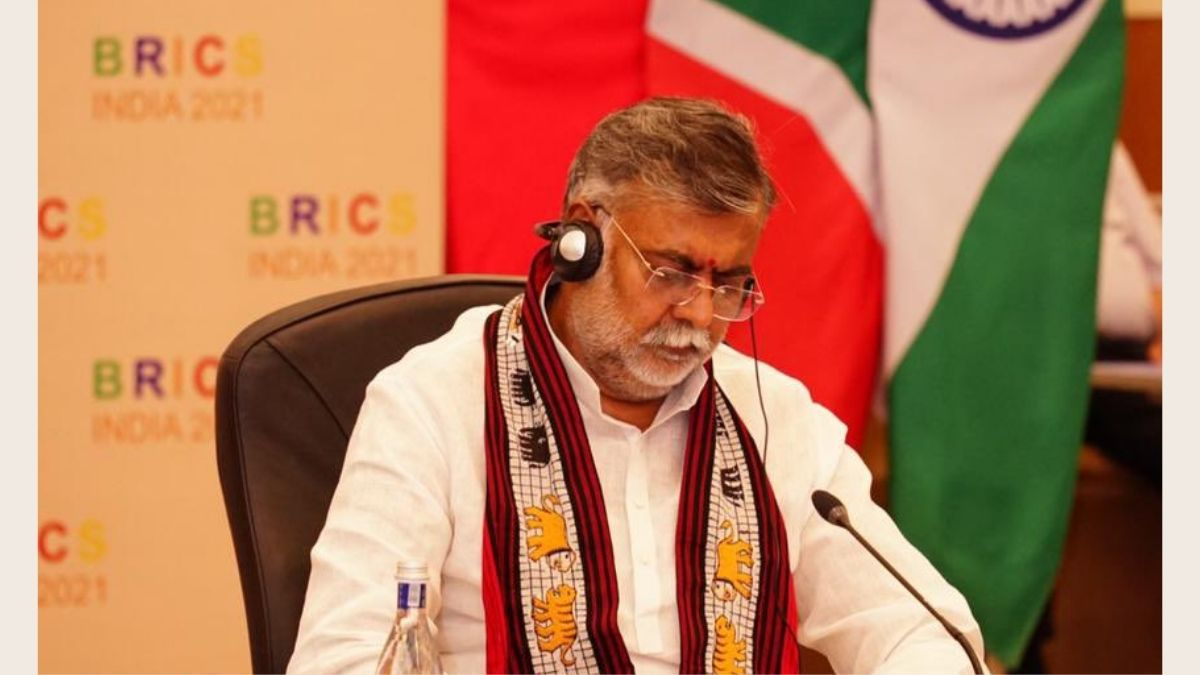 Shri Prahlad Singh Patel chairs 6th meeting of BRICS Culture Ministers through video conference
