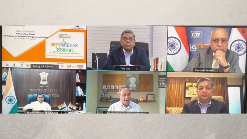 India has emerged as a world leader in Energy Transition says Union Power Minister Shri RK Singh