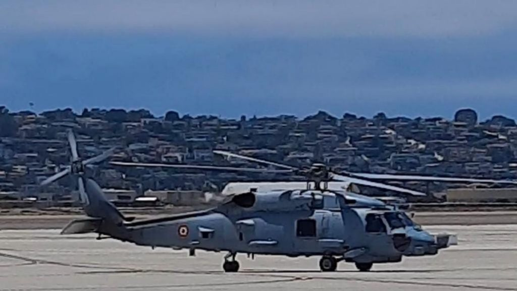 Indian Navy accepts the first batch of two MH-60r Multi-Role Helicopters (MRH)