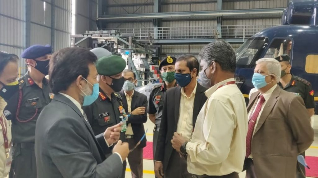 LT GEN CP MOHANTY, VICE CHIEF OF THE ARMY STAFF PROCEEDS ON TWO DAY VISIT TO BENGALURU