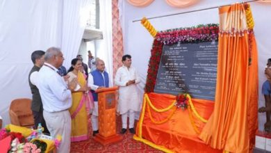 Union Agriculture Minister Shri Narendra Singh Tomar lays the foundation stone of Plant Authority Building