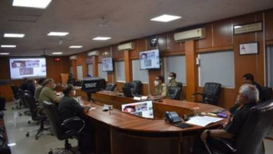 The last blast of Sela Tunnel's escape tube was conducted by DG Border Roads through video conferencing