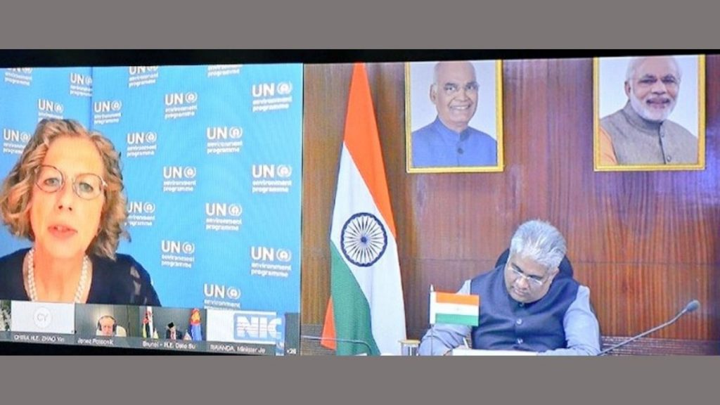 India committed to work with G20 countries in mounting an effective response to secure the health of the planet and its people: Shri Bhupender Yadav