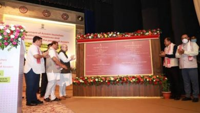 Union Home Minister Shri Amit Shah inaugurated and laid the foundation stone of several development projects in Guwahati