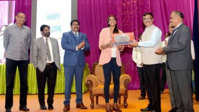 Olympic Bronze Medalist PV Sindhu, Felicitated by RINL, Ministry of Steel