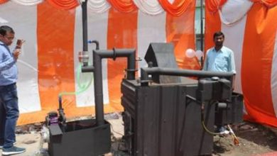 Principal Scientific Adviser to the Government of India virtually inaugurates a decentralized biomedical waste incinerator at Buxar, Bihar