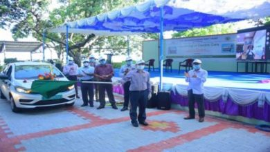 VOC Port, the first Major Port to launch e-cars