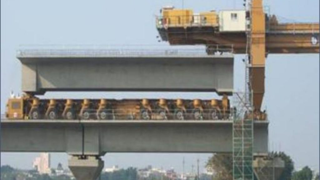 Full Span Launching Equipment to expedite construction of Mumbai-Ahmedabad High-Speed Rail Project flagged off