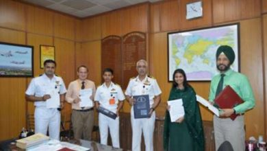 Indian Navy signs contract with BEL for the supply of Naval Anti-drone system
