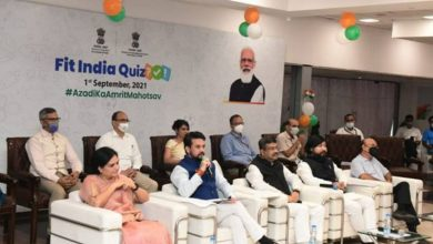 Sports Minister Shri Anurag Thakur and Education Minister Shri Dharmendra Pradhan launch first-ever nation-wide quiz on sports and fitness