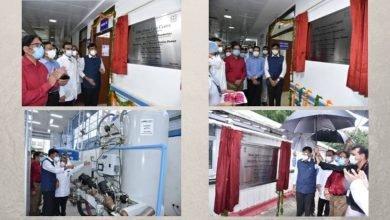 Union Health Minister Shri Mansukh Mandaviya inaugurates multiple Health Facilities at the Safdarjung Hospital