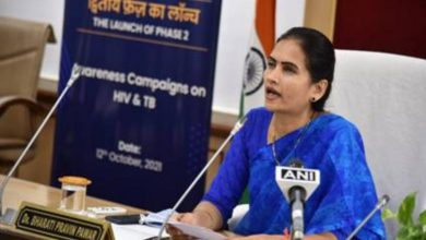 Dr Bharati Pravin Pawar launches Phase II of Awareness Campaigns on HIV/AIDS & TB under 'Azadi ka Amrit Mahotsav'